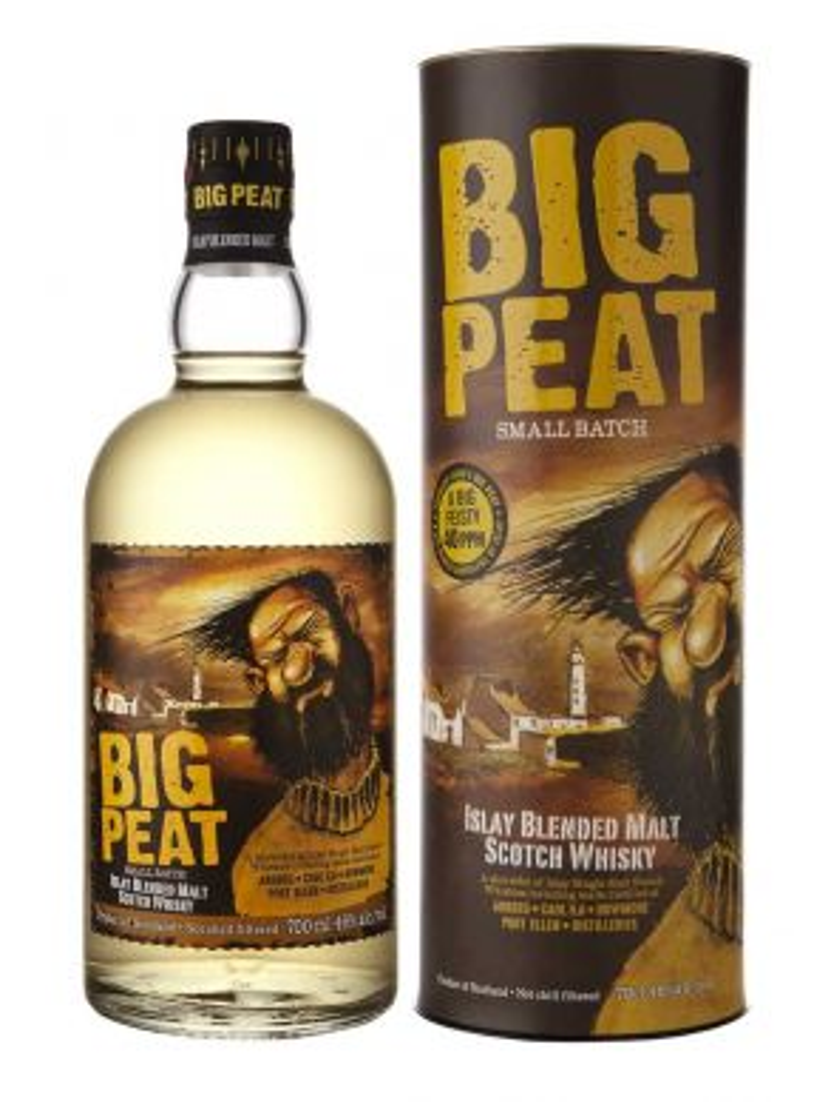Douglas Laing Big Peat Whisky Gift Tube 70cl