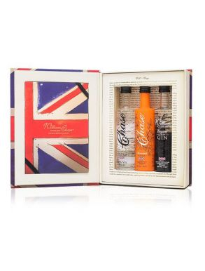 Chase Spirits Book Trio Miniatures Gift Set 3x5cl