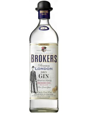 Brokers Gin 40% 70cl