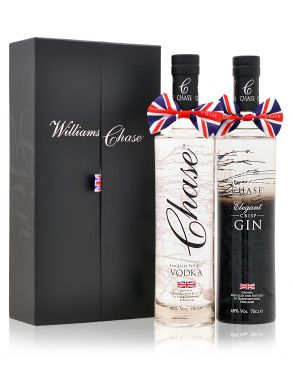 Chase English Vodka and Elegant 48 Gin Duo Box 70cl