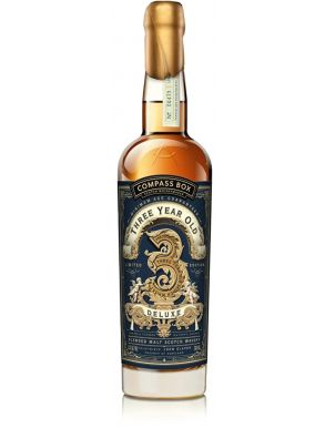 Compass Box 3 Year Old Deluxe Blended Malt Scotch Whisky 70cl