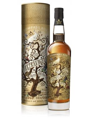 Compass Box Spice Tree Extravaganza Blended Malt Scotch Whisky Gift Box