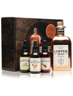 Copperhead Gin Alchemist Gift Box 50cl