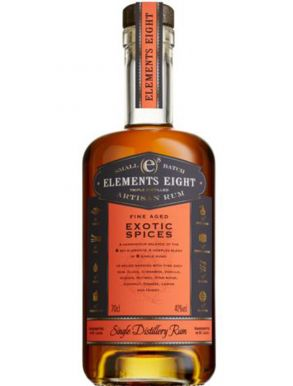 Elements 8 Barrel Exotic Spices Rum 70cl