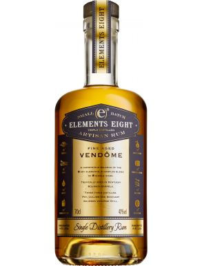 Elements Eight Fine Aged Vendome Single Distillery Rum 70cl