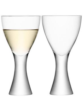 LSA Elina Wine Glasses - 470ml (Set of 2) Gift Box