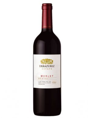 Errazuriz Estate Merlot 2010 Red Wine Chile