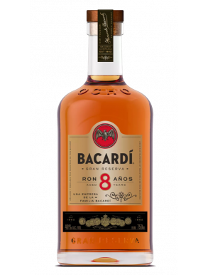Bacardi Reserva Superior 8 Year Old Rum 70cl
