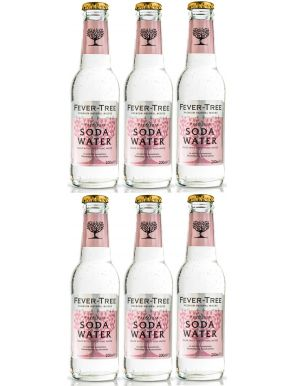 Fever-Tree Spring Soda Water 20cl x 6 bottles