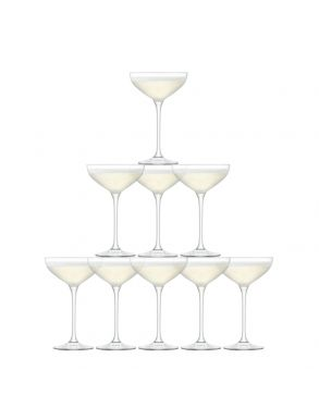 LSA Tower Champagne Set - 235ml (Set of 10)