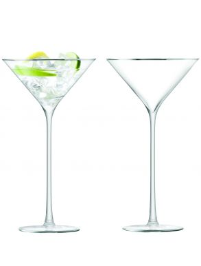 LSA Celebrate Cocktail Glasses - Platinum 225ml (Set of 2)