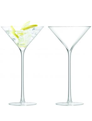 LSA Celebrate Cocktail Glasses - Clear 225ml (Set of 2)