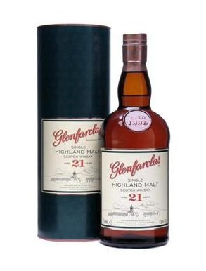 Glenfarclas 21 yr old Speyside Scotch Whisky 70cl