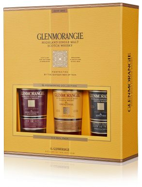 Glenmorangie Malt Whisky Pioneering Taster Pack 3x35cl