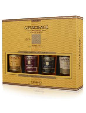 Glenmorangie Single Malt Whisky Pioneering Taster Pack 4x10cl
