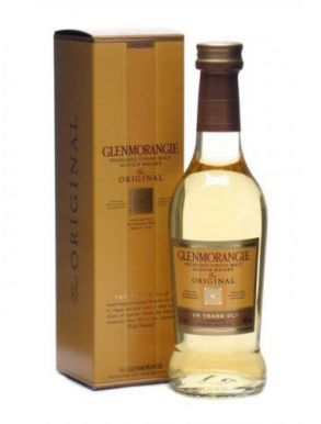 Glenmorangie 10 Year Old Single Malt Whisky Miniature 10cl Gift Box