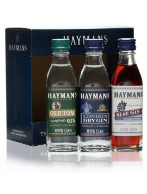 Hayman's Best of British Gin Gift Pack 3x5cl