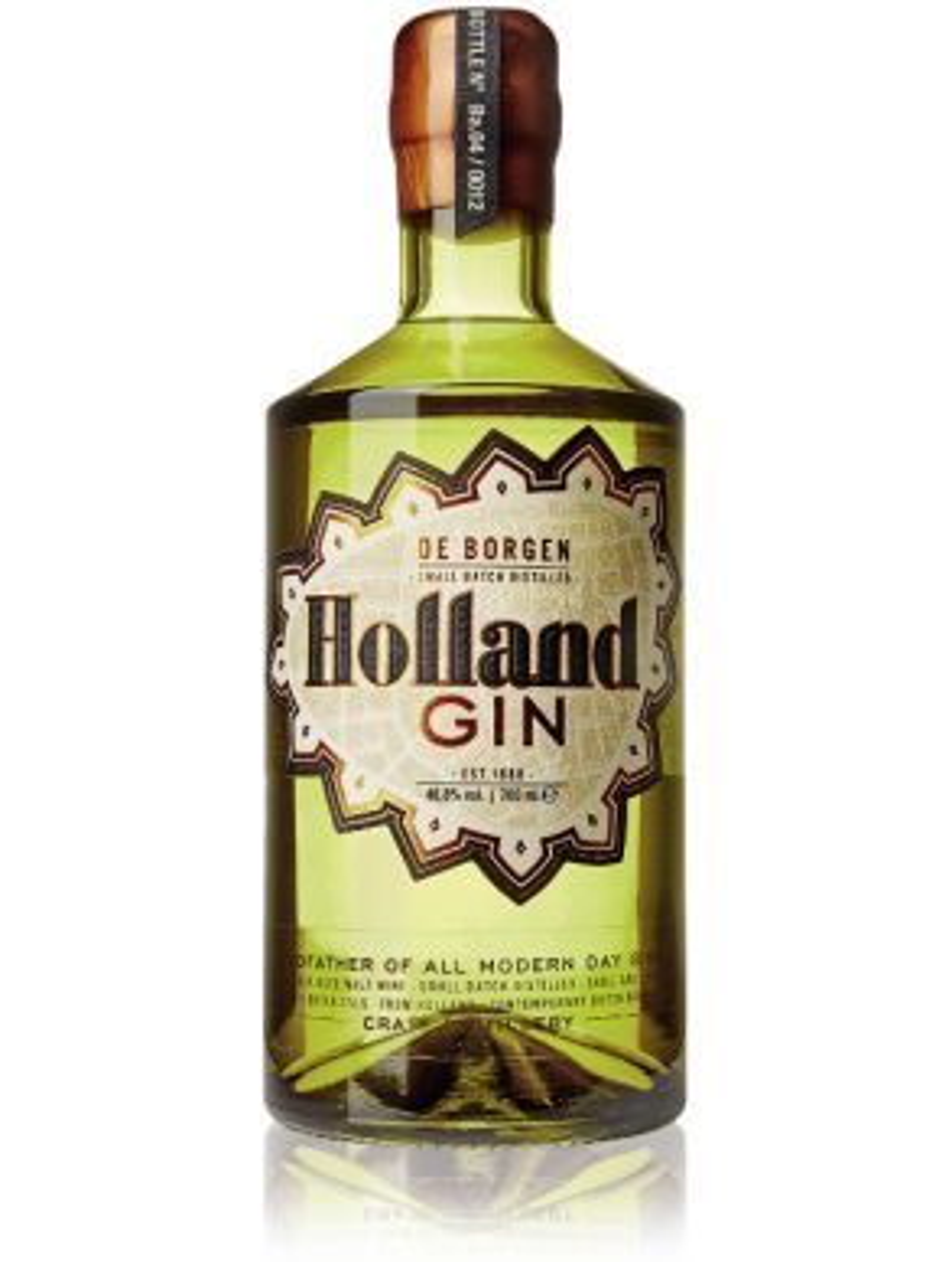 De Borgen Holland Gin 70cl