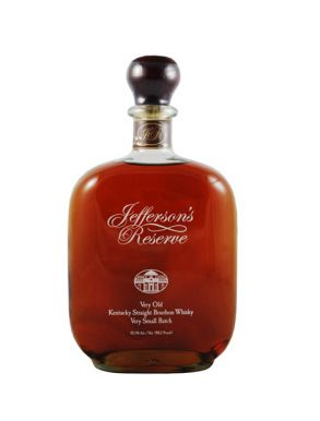 Jefferson's Reserve V Old Straight Bourbon Whisky Very Small Batch 75cl
