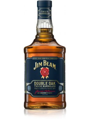 Jim Beam Double Oak Bourbon Whiskey 70cl