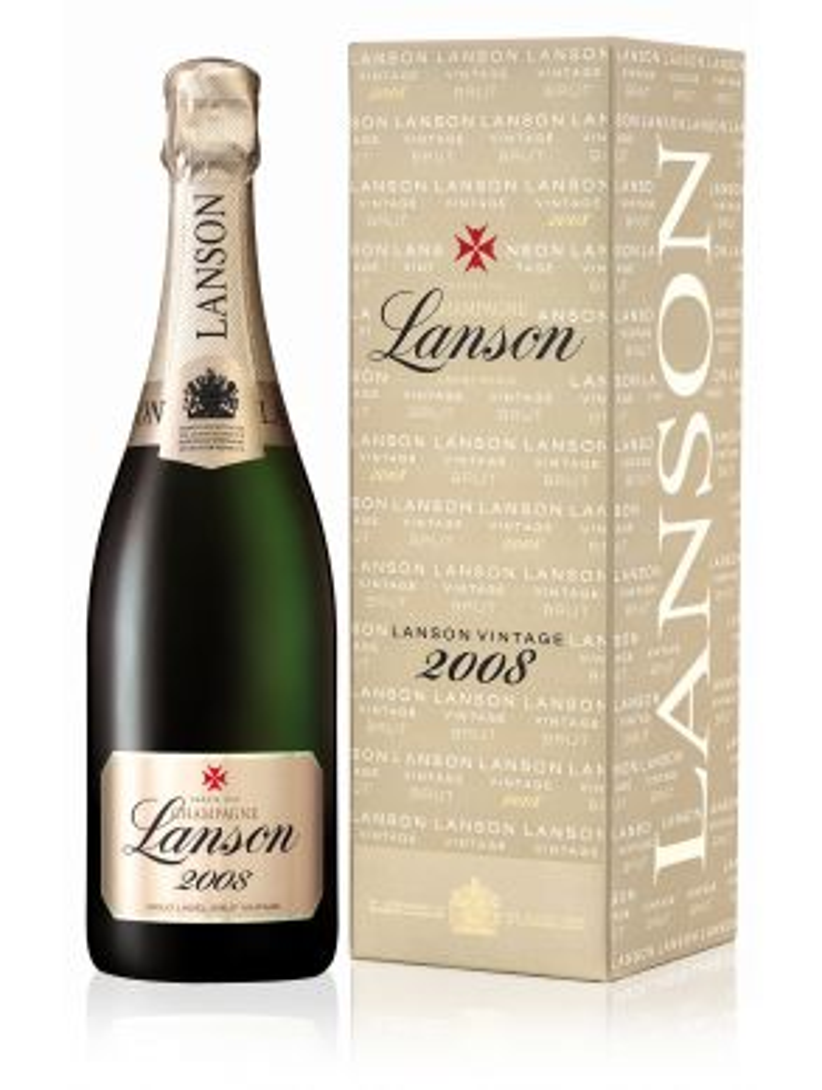 Lanson Gold Label Brut Millesime 2008 Champagne 75cl