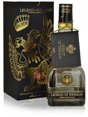 Legend of Kremlin Premium Russian Vodka 50cl Gift Box