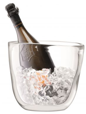 LSA Celebrate Champagne Bucket - Clear H22cm