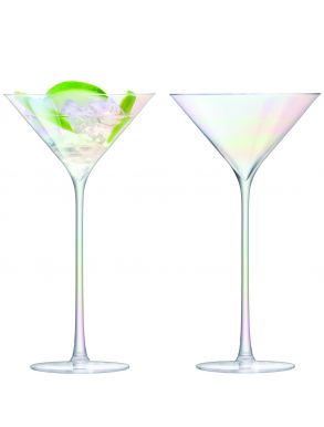 LSA Celebrate Cocktail Glasses - Mother of Pearl 225ml (Set of 2)