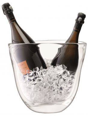 LSA Celebrate Dual Champagne Bucket - Clear H27cm