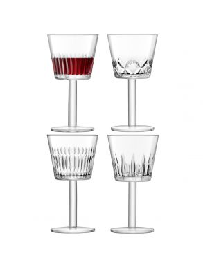 LSA Tatra Wine Goblets - 310ml (Set of 4)