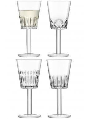 LSA Tatra Wine Goblets - 300ml (Set of 4)
