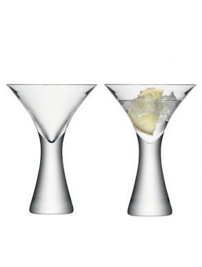 LSA Moya Cocktail Glasses - 300ml (Set of 2) Gift Box