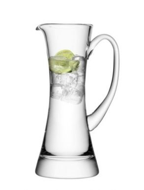 LSA Moya Glass Jug - Clear 0.75L Gift Box