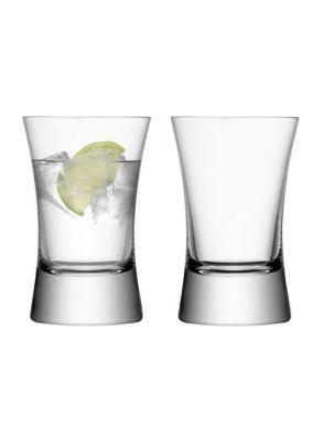 LSA Moya Collection Tumbler Glasses - 330ml (Set of 2) Gift Box