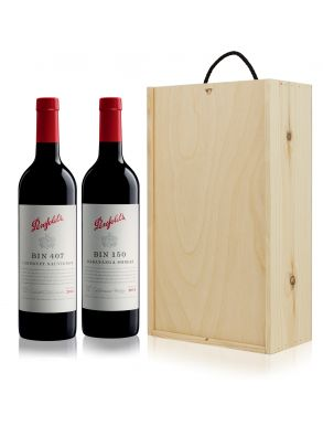 Penfolds Bin 407 and Bin 150 Wine Gift Set Duo 75cl