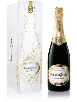 Perrier Jouet Grand Brut Champagne NV 75cl Gift Tin