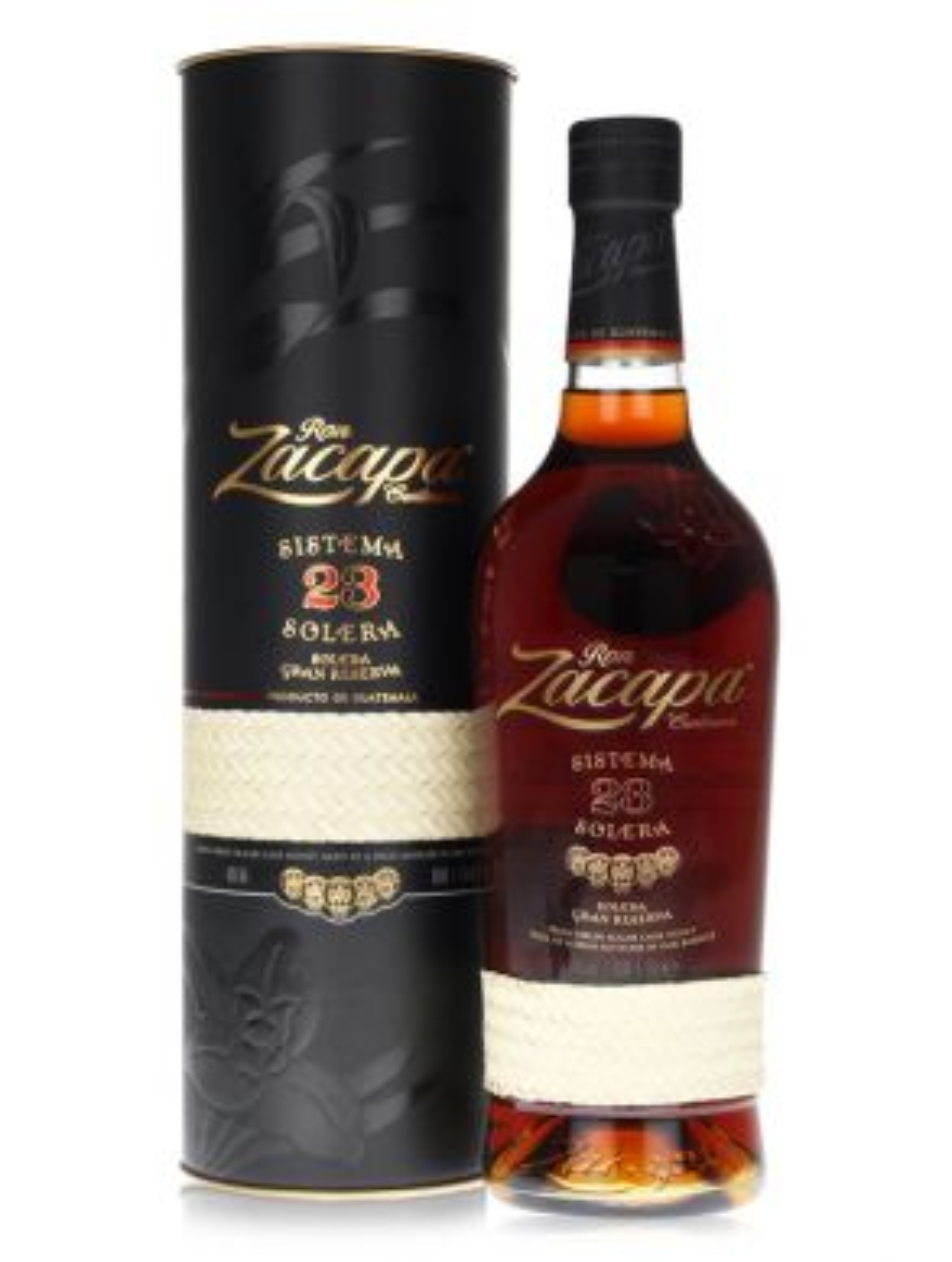 Ron Zacapa Centenario Sistema Solera 23 Rum 70cl with Gift Tin