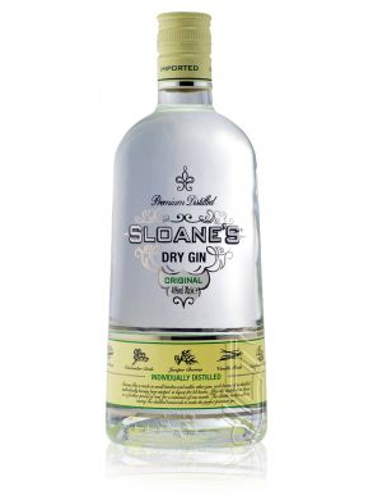 Sloanes Premium Dry Distilled Gin Original 70cl