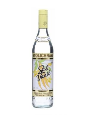 Stolichnaya Russian Vanilla Vodka 70cl