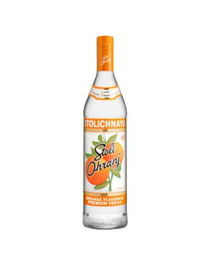 Stolichnaya Ohranj Orange Vodka 70cl