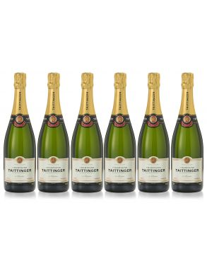 Taittinger Brut Reserve Champagne Case Deal 6 x 75cl