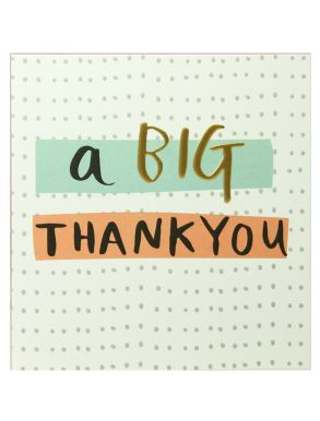 A Big Thank You Gift Card
