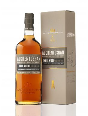 Auchentoshan Three Wood Whisky Gift Box 70cl