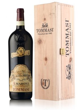 Tommasi Amarone Red Wine Magnum Wooden Gift Box 150cl