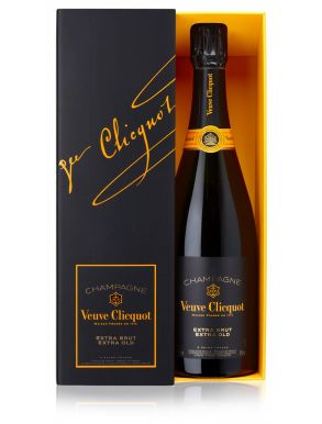 Veuve Clicquot Extra Brut Extra Old Champagne Gift Boxed 75cl