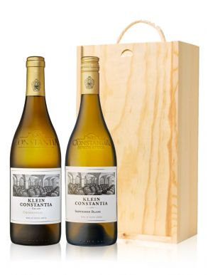 Klein Constantia Estate SA 2 Bottles Wooden Gift Box