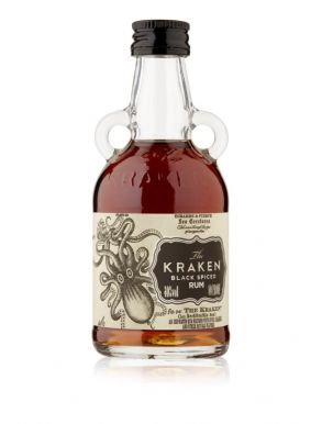 The Kraken Black Spiced Rum 5cl