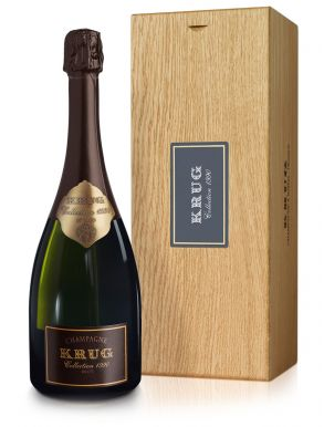 Krug Collection 1990 Vintage Champagne 75cl Gift Box