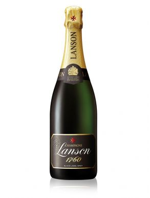 Lanson Black label Champagne Brut NV 75cl