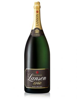 Lanson Balthazar Black label Champagne Brut NV 1200cl Gift Box